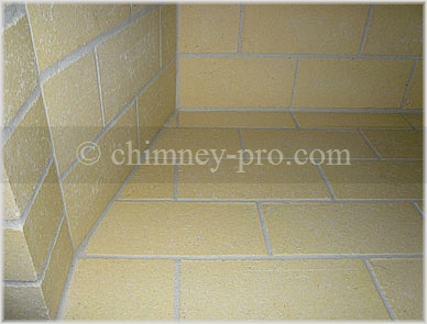 Traditional Firebrick Firebox-Stack Bond and Shiner Pattern